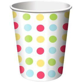 Cupcake Birthday Cups (8-pack)