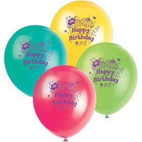 "Cupcake Party 12"" Latex Balloons (8-pack)"