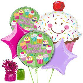 Cupcake Party Balloon Kit