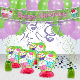 Cupcake Party Decoration Kit