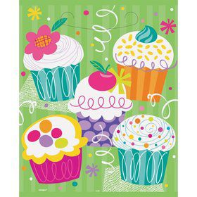 Cupcake Party Loot Bags (8-pack)