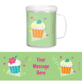 Cupcake Party Personalized Favor Mugs (Each)
