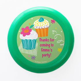 Cupcake Party Personalized Mini Discs (Set of 12)