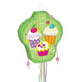 Cupcake Party Pinata (each)