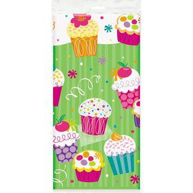 Cupcake Party Table Cover (each)
