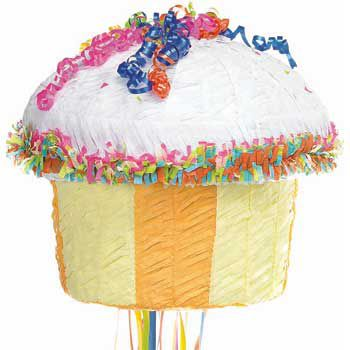 Cupcake Pinata - Party Supplies