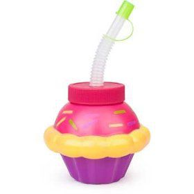 Cupcake Sipper Cup (each)