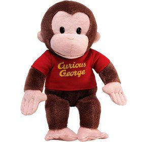 Curious George 12 Red Shirt