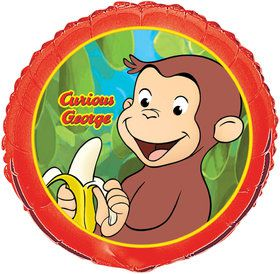 "Curious George 18"" Balloon (Each)"