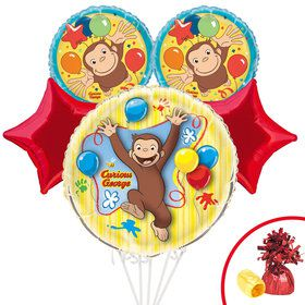 Curious George Balloon Bouquet Kit