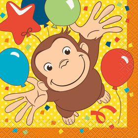 Curious George Beverage Napkins (16)