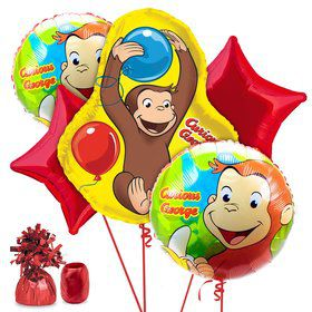 Curious George Birthday Balloon Kit