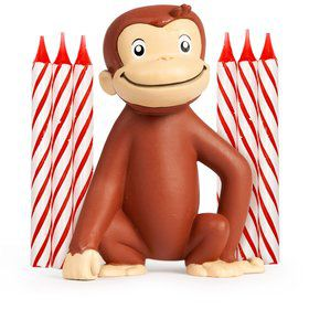 Curious George Candle (each)