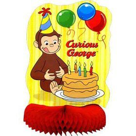 Curious George Centerpiece (each)