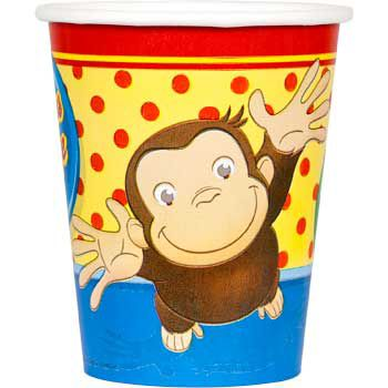 Curious George Cups (8-Pack) BB009561