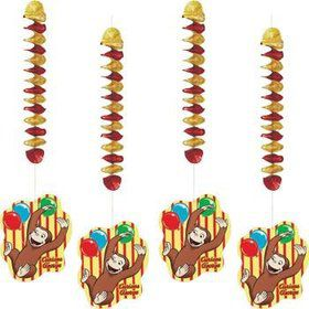 Curious George Dangling Cutout (each)