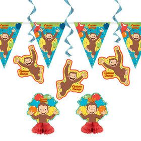 Curious George Decoration Kit (7)