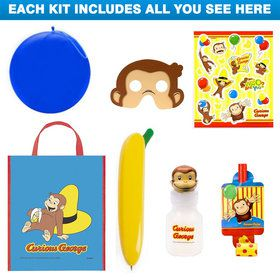 Curious George Deluxe Favor Kit (for 1 Guest)