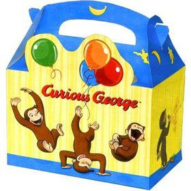 Curious George Favor Boxes (4-pack)