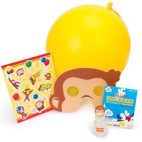 Curious George Favor Kit (for 1 Guest)