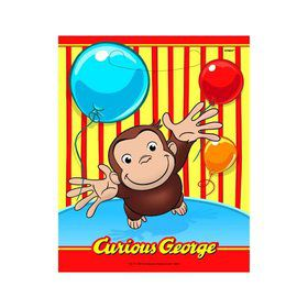 Curious George Loot Bags (8 Pack)