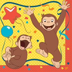 Curious George Luncheon Napkins (16)