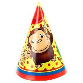 Curious George Party Hats (8-pack)