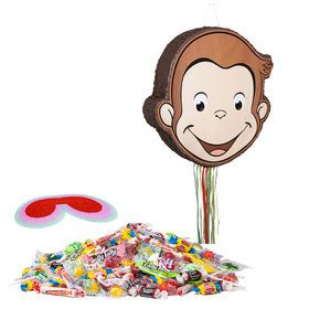 Curious George Pull String Pinata Kit