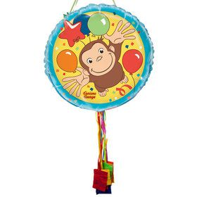 Curious George Pull String Economy Pinata