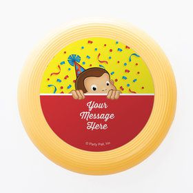 Curious Monkey Personalized Mini Discs (Set of 12)