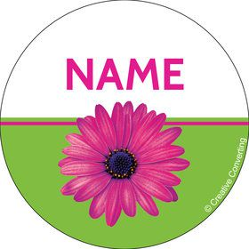 Daisy Power Personalized Mini Stickers (Sheet of 24)