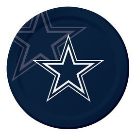 "Dallas Cowboys 9"" Luncheon Plates (8 Count)"