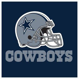 Dallas Cowboys Luncheon Napkins (16 Count)