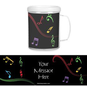 Dancing Music Personalized Favor Mugs (Each)