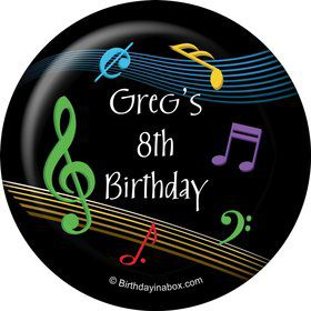 Dancing Music Personalized Magnet (Each)