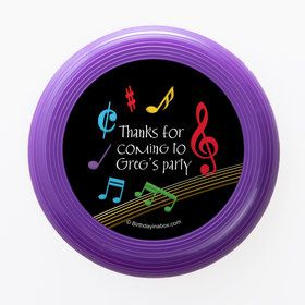 Dancing Music Personalized Mini Discs (Set of 12)