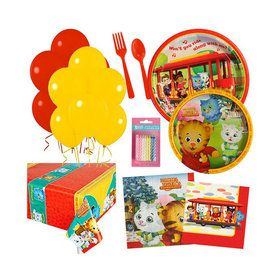 Daniel Tiger Party Essentials Kit Serves 16