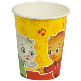 Daniel Tiger's Neighborhood 9 oz Paper Cups (8 Count)