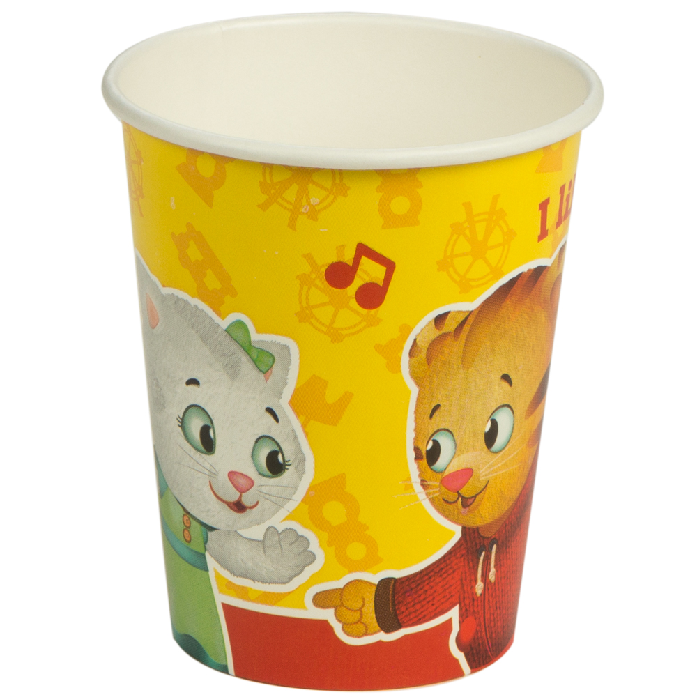 Daniel Tiger's Neighborhood 9 Oz Paper Cups (8 Count) BB99685