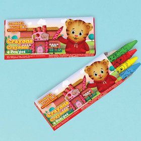 Daniel Tiger's Neighborhood Crayon Boxes (12)
