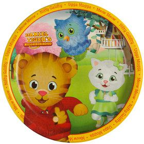 Daniel Tiger's Neighborhood Dinner Plates (8 Count)