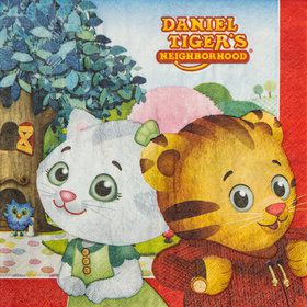 Daniel Tiger's Neighborhood Lunch Napkins (16 Count)