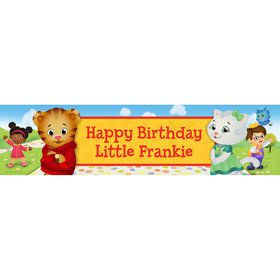 Daniel Tiger's Neighborhood Personalized Banner (Each)