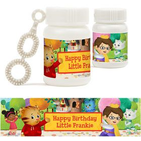 Daniel Tiger's Neighborhood Personalized Bubbles (18 Pack)