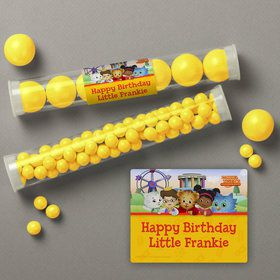 Daniel Tiger's Neighborhood Personalized Candy Tubes (12 Count)