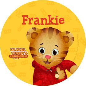 Daniel Tiger's Neighborhood Personalized Mini Stickers (Sheet of 24)