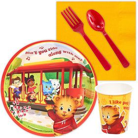 Daniel Tiger's Neighborhood Standard Tableware Kit (Serves 8)