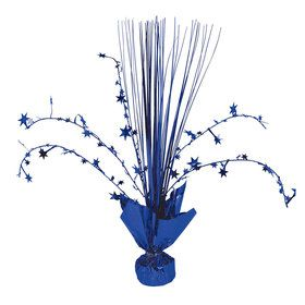 Dark Blue Spray Centerpiece (Each)