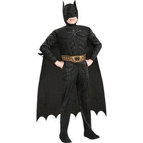 Dark Knight Batman Deluxe Muscle Chest Child