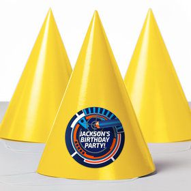 Dart Game Personalized Party Hats (8 Count)